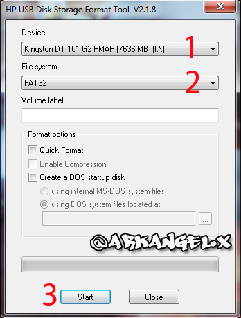 HP USB Disk Storage Format Tool 2
