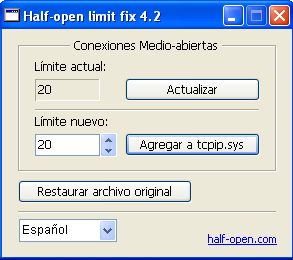 Half-open limit fix5