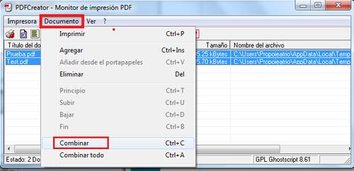 Unir Varios Documentos PDF en Uno Solo | Black Protocol